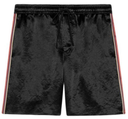 Gucci Black Shorts Worn By Meek Mill