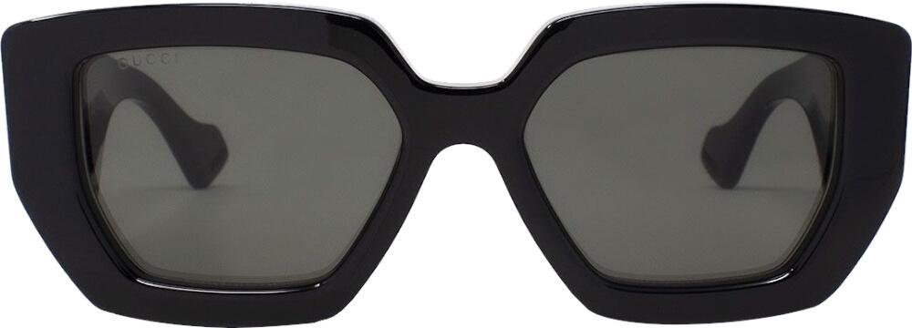 Black Thick Square Sunglasses