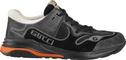 Gucci Black Suede Ultrapace Sneakers