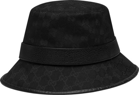 Gucci Black Supreme Bucket Hat