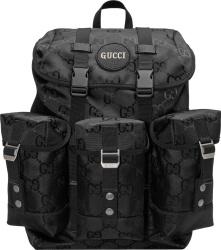 Gucci Black Supreme Canvas Backpack