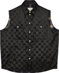 Gucci Black Supreme Off The Grid Vest 631106 Zaebn 1000