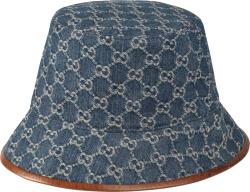 Gucci Blue Denim Bucket Hat 576371 4hac3 4264