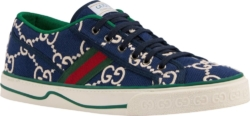 Gucci Blue Tennis 1977 Sneakers