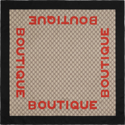 Boutique Print Supreme Scarf