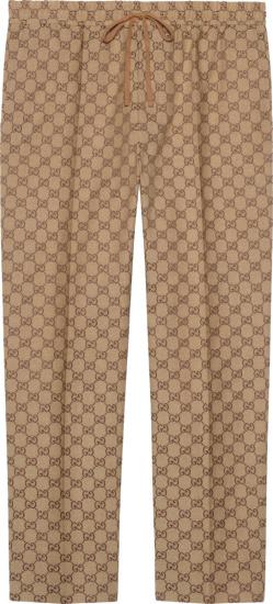 Gucci Canvas Jogging Pant