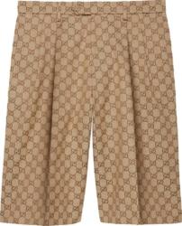 Gucci Gg Canvas Bermuda Shorts