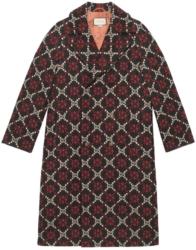 Gucci Gg Diamond Wool Coat Front