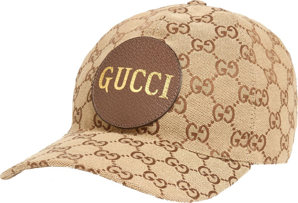 Gucci Gg Supreme Canvas Baseball Hat