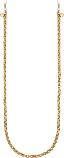 Gucci Gold Metal Glasses Chain