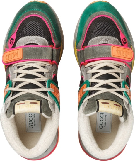 Gucci Green Ultrapace Sneakers