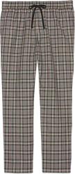 Gucci Grey Check Wool Pants