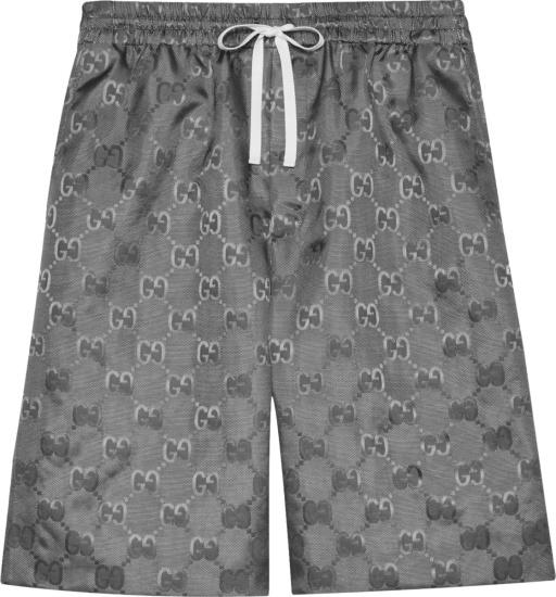 Gucci Grey Off The Grid Shorts 654859zaebn1126