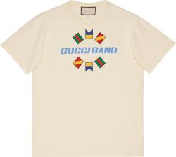 Gucci Gucci Band White T Shrit