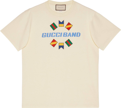 Gucci Gucci Band White T Shrit