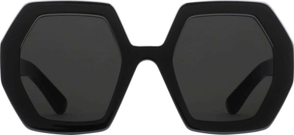 Black Hexagon Sunglasses (GG0772S)