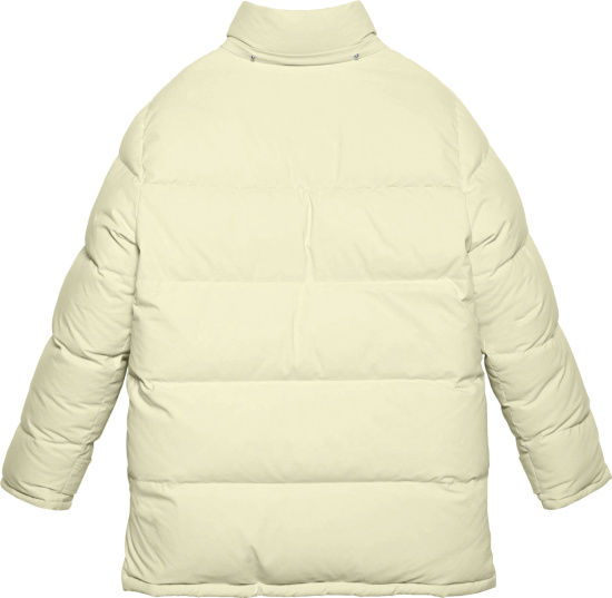 Gucci Ivory And Beige North Face Puffer Jacket