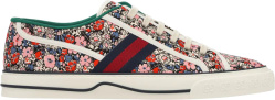 Gucci Liberty Floral Print Low Top Sneakers