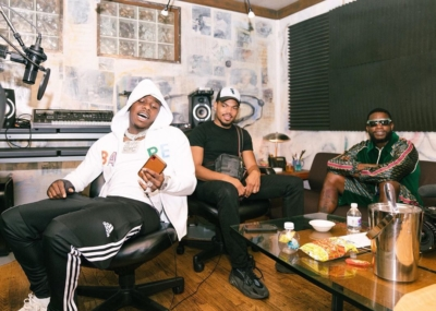 Gucci Mane Dabay And Chance The Rapper In The Studio