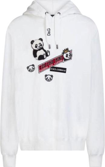 Gucci Mane Instagram White Panda Hoodie