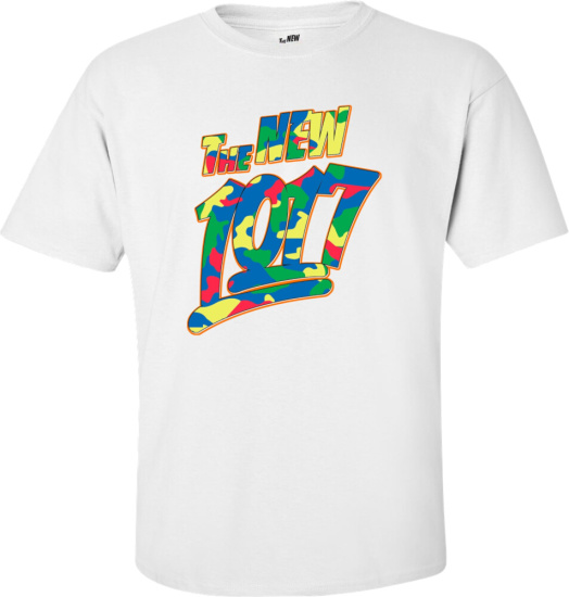 Gucci Mane The New 1017 Neon Camo Print T Shirt