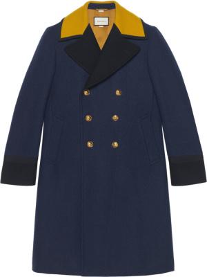 Gucci Navy Marine Coat
