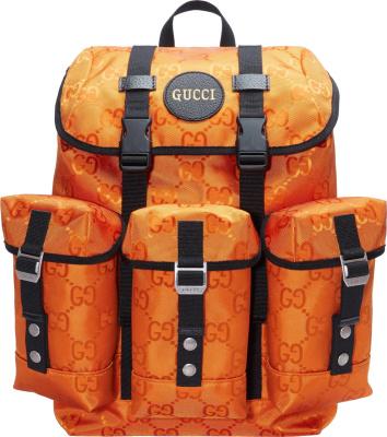 Gucci Orange Off Da Grid Backpack
