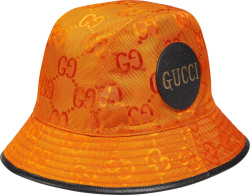 Gucci Orange Off Da Grid Bucket Hat
