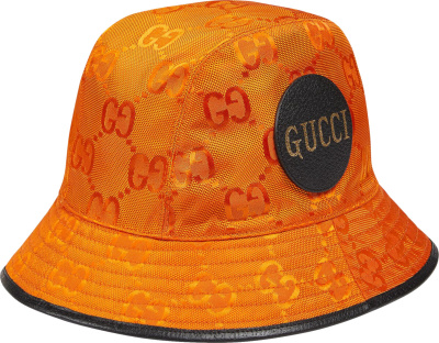 Gucci Orange Off Da Grid Bucket Hat