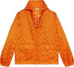 Orange 'Off The Grid' Jacket