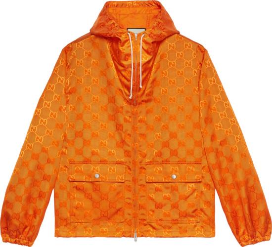 Gucci Orange Off Da Grid Jacket
