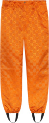 Orange 'Off The Grid' Track Pants