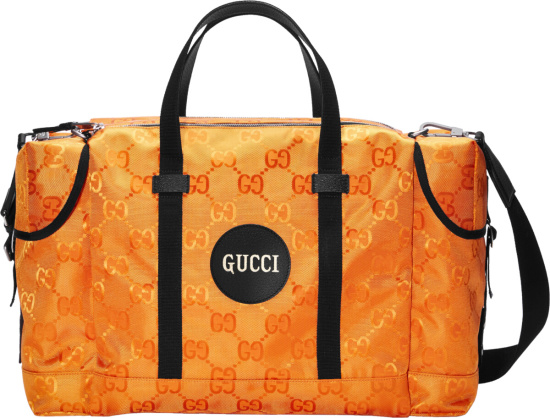 Gucci Orange Off The Grid Duffle Bag