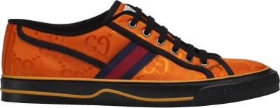 Gucci Orange Off The Grid Tennis Sneakers