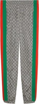 Gucci Oversize Gg Nylon Jogging Pants