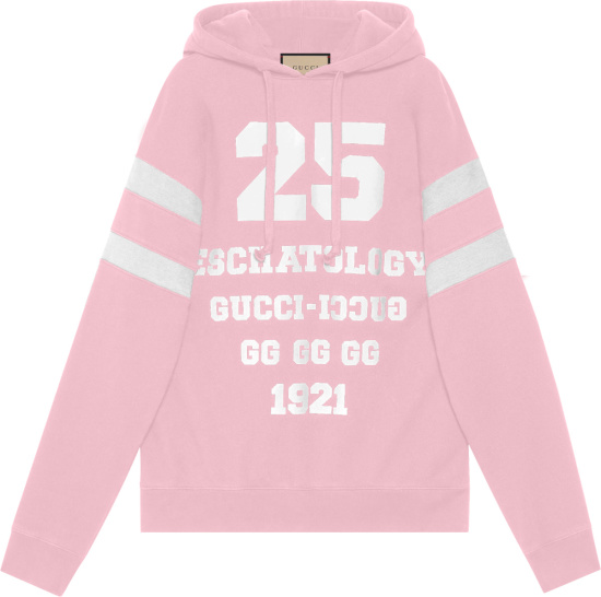 Gucci Pink And White 25 Hoodie