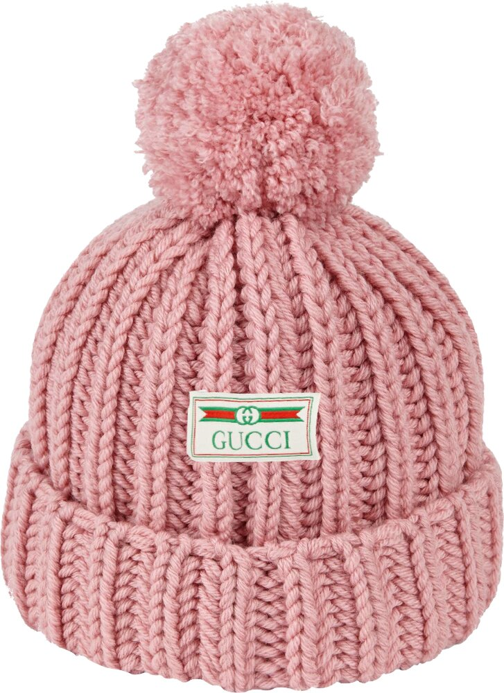 Gucci Pink Knit Hat