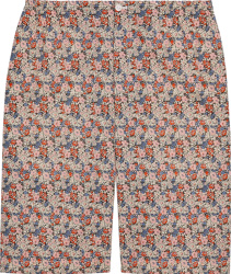 Gucci Pink Liberty Floral Shorts