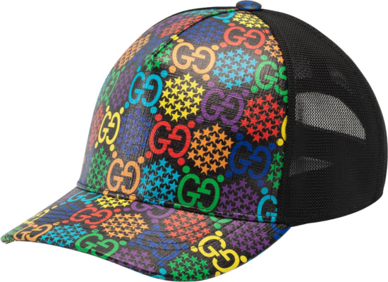 Gucci Psychedelic Print Trucker Hat