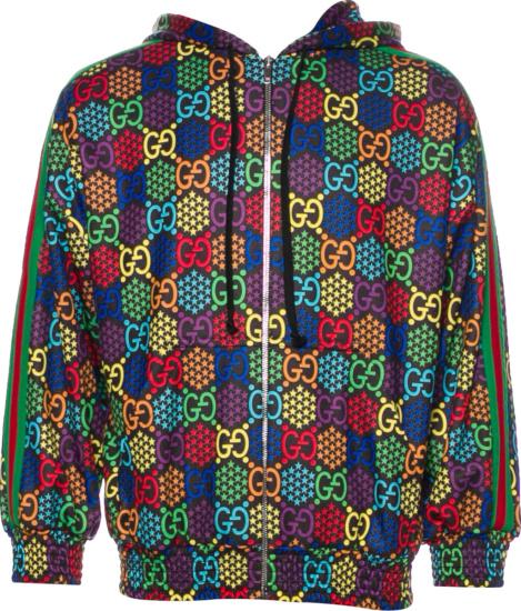 Gucci Psychedelic Print Zip Jacket