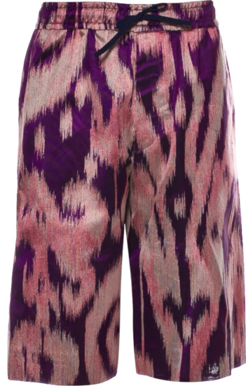 Gucci Purple And Pink Swirl Shorts