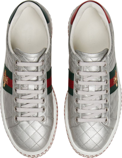Gucci Quilted Platform Sneakers