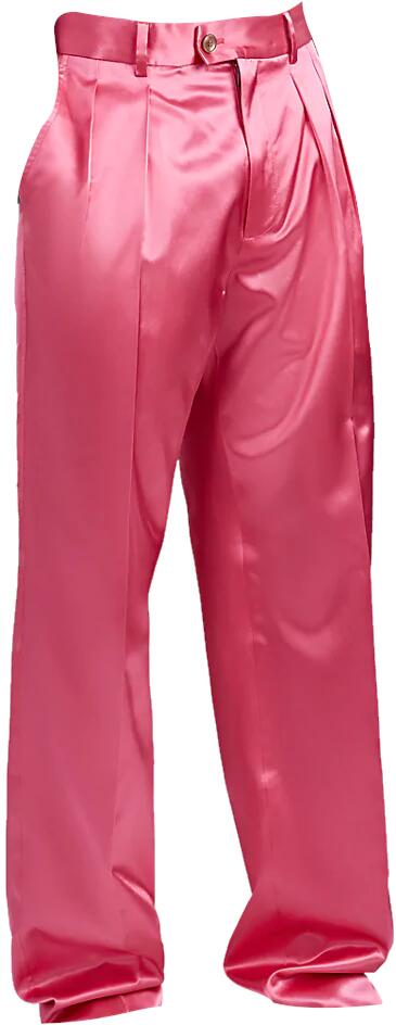 Gucci Silk Satin Trousers