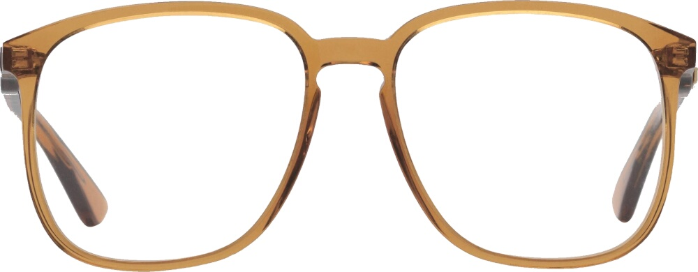 Gucci Square Frame Clear Lens Glasses