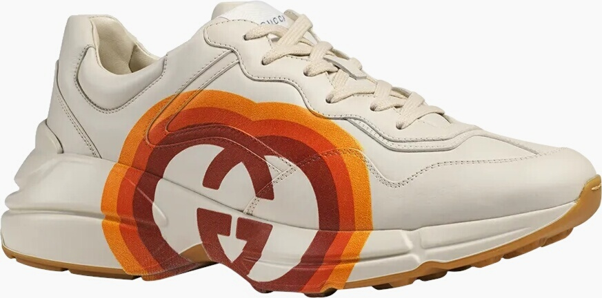 Gucci Star Print Rhyton Sneakers