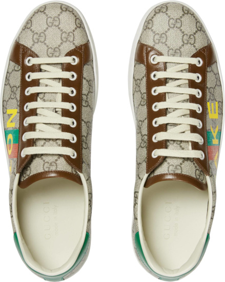 Gucci Supreme Fake Not Ace Sneakers