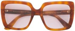 Gucci Tortoise Frame Large Quare Sunglasses