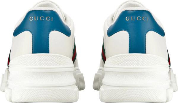 Gucci Web Stripe White Chunky Sneakers