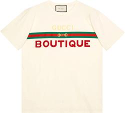 White 'Boutique' T-Shirt