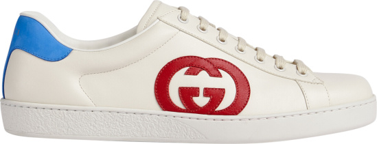 Gucci White Interlocking G Ace Sneakers